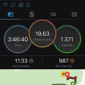 vito na vrcholu Babia Hora (16.2.2021 11:15)