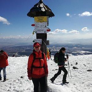 dana na vrcholu Babia Hora (23.3.2019 13:01)