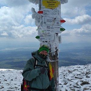 Michal Krčmář na vrcholu Babia Hora (8.5.2019 11:17)
