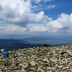IG na vrcholu Babia Hora (4.7.2021 10:43)