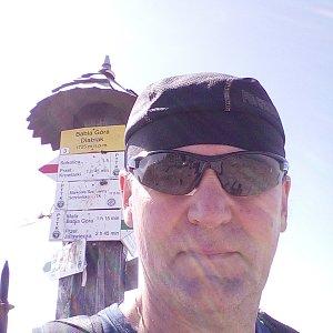 Li Be na vrcholu Babia Hora (15.6.2019 10:16)