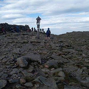 stusve na vrcholu Babia Hora (6.7.2019 17:28)