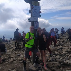 Petr Bartoň na vrcholu Babia Hora (26.9.2021 19:51)