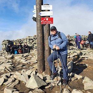 Rado na vrcholu Babia Hora (16.10.2021 14:06)
