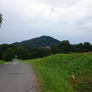 Martin Matějka na vrcholu Mázova horka (2.8.2016 12:20)