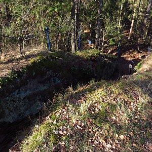 Iveta Válová na vrcholu Schachtenstein (31.3.2021)