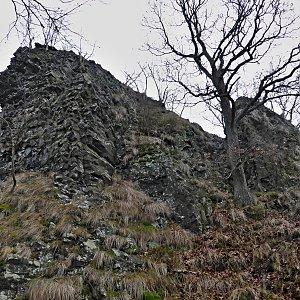 Pavel Martínek na vrcholu Velký jelení vrch (11.1.2014 14:11)