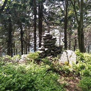 Eliška na vrcholu Zadní Žalý (15.6.2021 14:50)