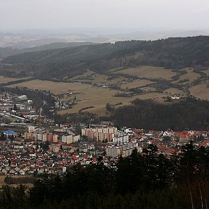 Bouřka na vrcholu Svatobor (2.2.2020 13:08)