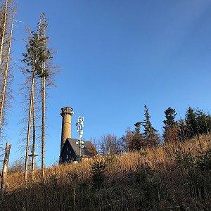 Martin Matějka na vrcholu Svatobor (24.4.2021 18:56)
