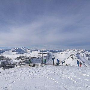 martenzites na vrcholu Hoher Zinken (15.2.2020 10:42)