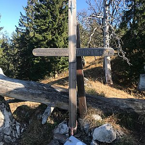 Karin Satoriová na vrcholu Demänovská hora (27.10.2019 12:44)