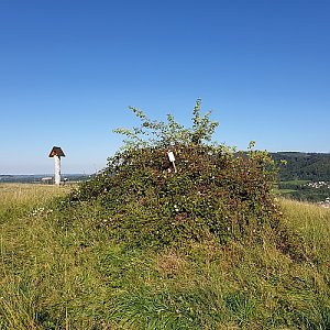 Petr Pepe Peloušek na vrcholu Vrchy (9.9.2020 16:21)