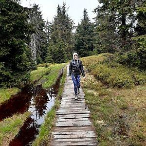 Michaela Hilscherová na vrcholu Sadzonki (29.5.2020 13:50)