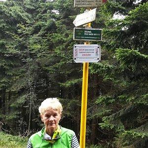 MUDr.Svatopluk Kunčar na vrcholu Kněhyně (17.8.2019 12:58)