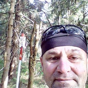 Li Be na vrcholu Šerlich (2.8.2020 8:24)
