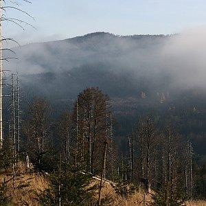 Bouřka na vrcholu Koňský vrch (10.11.2020 14:22)