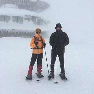 Radůza na vrcholu Sněžka / Śnieżka (18.1.2019 14:23)