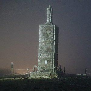 Antonio na vrcholu Sněžka (28.11.2020 16:52)