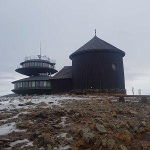 Ondřej M. na vrcholu Sněžka (23.12.2020 8:00)