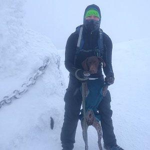 Jan Pova na vrcholu Sněžka (25.1.2019 12:00)