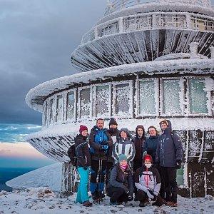 michalzhor na vrcholu Sněžka (30.12.2020 9:00)