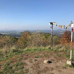 Martin Matějka na vrcholu Nedvězí (14.10.2019 13:54)