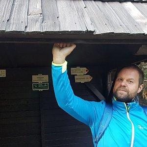 Petr Zajac na vrcholu Vysoká (23.4.2020 18:48)