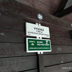 ŠenovKK na vrcholu Vysoká (8.8.2020 13:06)