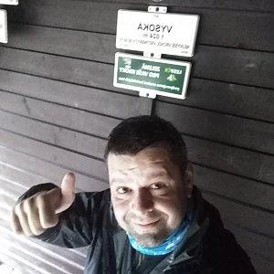 Ombre_Zamakejsi.cz na vrcholu Vysoká (3.5.2020 9:29)