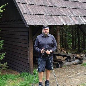 Jiří Gryz na vrcholu Vysoká (13.6.2021 13:02)