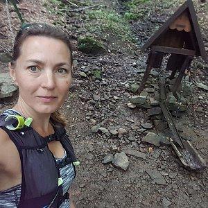 Marcela Kubíčková na vrcholu Vysoká (20.8.2021 12:46)