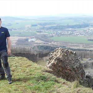 Jaromír Mach na vrcholu Tlustec (3.4.2020 11:48)