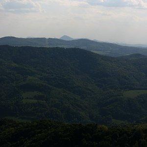 Bouřka na vrcholu Buková hora (16.5.2020 17:20)