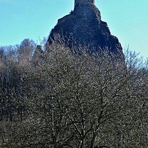 Pavel Martínek na vrcholu Trosky (26.6.2017 9:30)