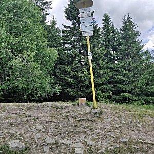 Pavel Martínek na vrcholu Malý Javorník (17.6.2021 12:37)