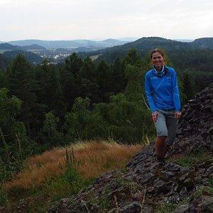 Iveta Válová na vrcholu Herdstein (20.7.2021 20:06)