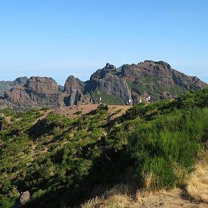 Iveta Válová na vrcholu Pico do Arieiro (29.8.2021 10:00)