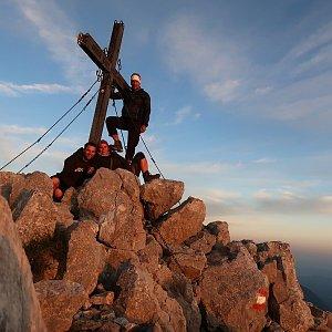 Bouřka na vrcholu Svačica (3.9.2021 19:10)