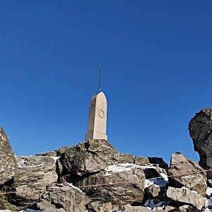 Pavel Martínek na vrcholu Ještěd (1.1.2020 10:57)