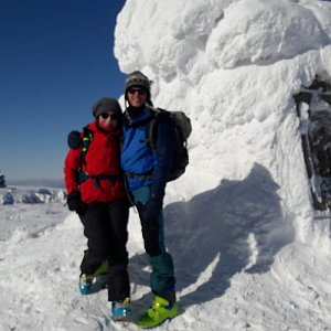 Jar Faldy na vrcholu Vysoké Kolo (14.2.2021 12:01)