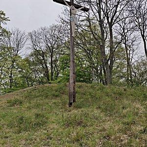 Pavel Martínek na vrcholu Křížový vrch (25.4.2020 10:56)
