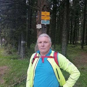 Jaroslav Hrabuška na vrcholu Kóta (30.5.2021 14:20)