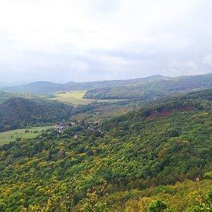 Lucie na vrcholu Lipská hora (17.10.2020 12:11)