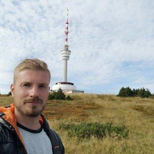 Aleš JAROLÍM na vrcholu Praděd (24.9.2019 11:02)