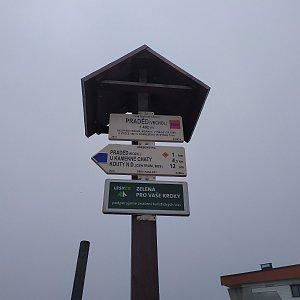 ŠenovKK na vrcholu Praděd (5.10.2019 11:55)
