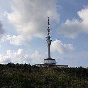 Petr Pepe Peloušek na vrcholu Praděd (14.8.2020 8:50)