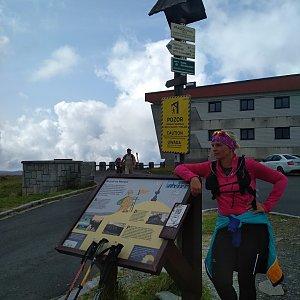 Katka na vrcholu Praděd (31.8.2018 11:33)