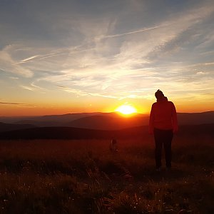 Aneta Šeráková na vrcholu Praděd (31.7.2020 11:22)