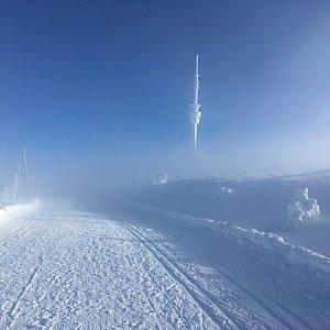 Mario33 na vrcholu Praděd (16.12.2018 12:08)
